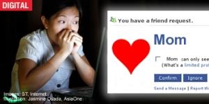 Cada día más mamás se suman a Facebook, mientras los hijos se van