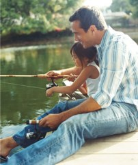 El placer de pescar