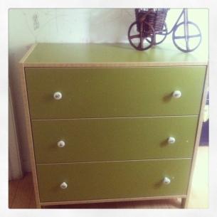 Mueble verde IKEA