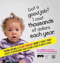 Campaña prevención embarazos adolescentes – NYC