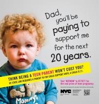 Campaña prevención embarazos adolescentes - NYC