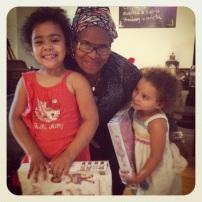 Abuela Emma de visita en New York este verano 2013