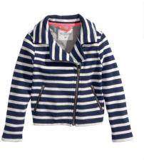 ¿Les dije que las rayas y los lunares son mis favoritos? Esta chaqueta me encanta (y cuesta sólo 25 dólares). Es para niñas (adultos abstenerse!)