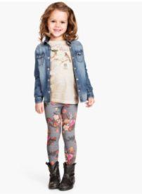 Leggins, leggins, leggins. Mis hijas los adoran y a mí me encanta. En H&M venden con varios estampados por 10 dólares