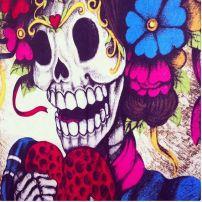 Colorida y un poco macabra: así es la celebración de Día de Muertos