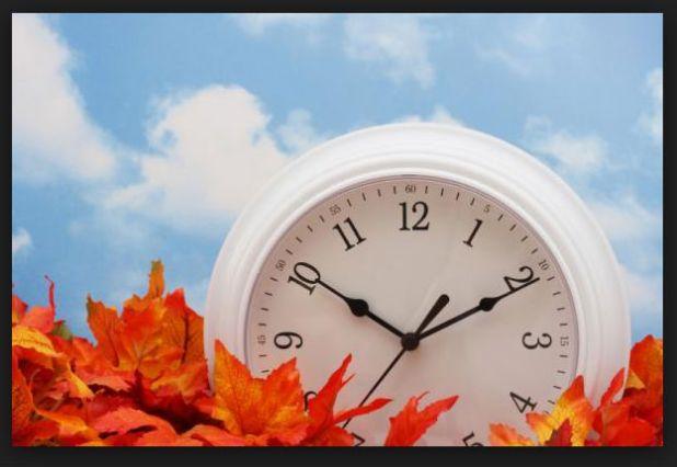 Tiempo de cambiar de hora