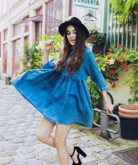 Vestido inspirado en delantales