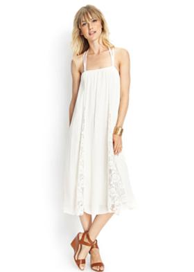 Maxi Dress Forever 21. 30 dólares