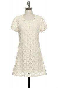Ivory Odessy Dress Laceaffair.com. 37 dólares