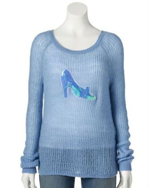 Glass Slipper Sweater 47 dólares